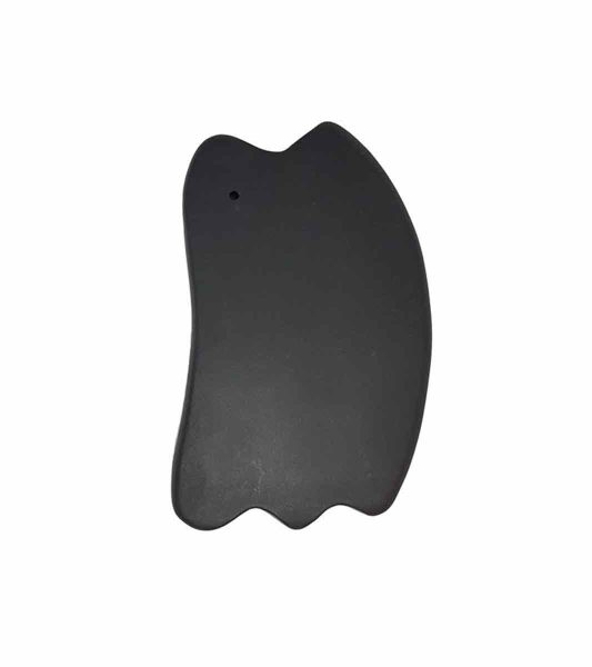 Gua Sha Stone Triple Ridge Fish Shape